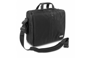 "UDG Ultimate CourierBag DeLuxe 17"" Negra, Naranja forro interior"