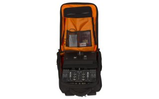 Imagenes de UDG Ultimate BackPack Slim Black Orange Inside