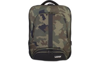 UDG Ultimate BackPack Slim Negro Camuflaje / Interior Naranja
