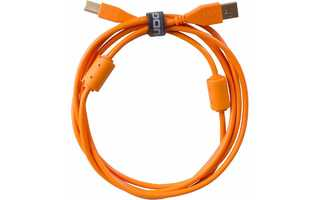 UDG Ultimate Cable USB 2.0 - Tipo A >> B - Naranja - 3 metros