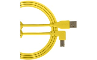 UDG U95004YL - ULTIMATE CABLE USB 2.0 A-B YELLOW ANGLED 1M