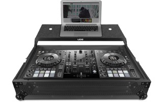UDG Ultimate Flight Case Pioneer DDJ 800 Black - Plus - Laptop shelf