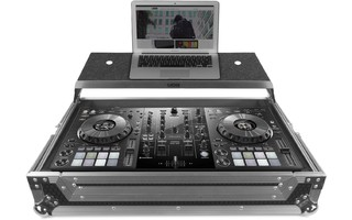 UDG Ultimate Flight Case Pioneer DDJ 800 Silver - Plus - laptop-shelf