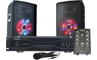 Ibiza Sound DJ 350 LED