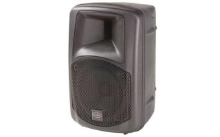 "ACTIVE POWERED 400W, TWO-WAY VENTED 8"" LOUDSPEAKER, BLACK"