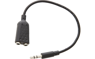 Cable divisor de audio 3.5 mm estéreo