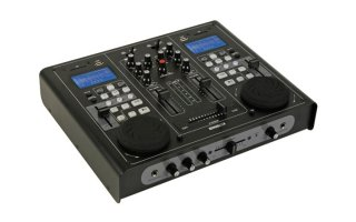 Doble reproductor USB/SD y mesa de mezclas audio VDSMP33