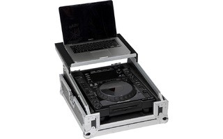 Flightcase CD o mixer con soporte para portatil  - WM-12M LTS GL