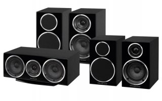 Wharfedale Diamond 220 Home Cinema 5.0 - Negro