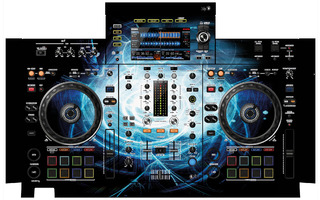 XDJ RX 2 Skin - Black Hole