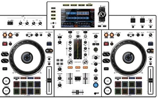 XDJ RX 2 Skin - White aka Star Trooper