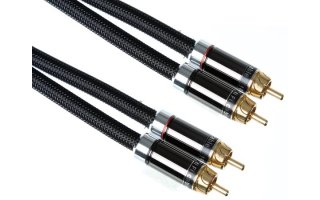 Imagenes de 2 x CONECTOR RCA AUDIO MACHO A 2 x RCA AUDIO MACHO / SUPERIOR /