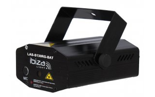 Ibiza Light Mini FireFly batería 130mW