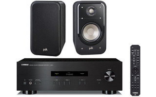 Yamaha A-S201 + Polk Audio S20