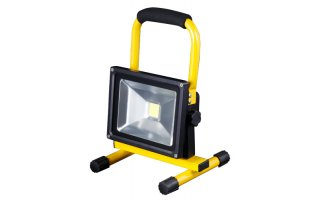 Foco LED portable y recargable 30W IP65