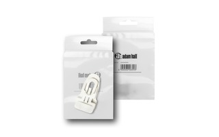 Adam Hall Accessories MIDI CLIP WHI M50 AH