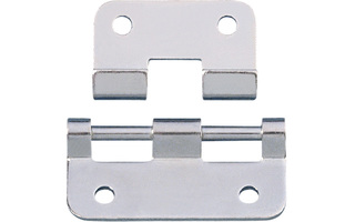 Adam Hall Hardware 2251 - Bisagra desmontable y galvanizada