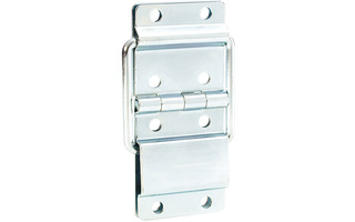 Adam Hall Hardware 2524 CHR - Bisagra parada larga cromada