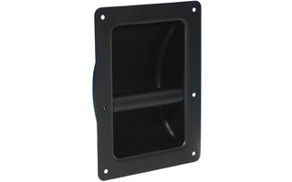 Adam Hall Hardware 3402 - Asa empotrable acero negro