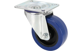 Adam Hall Hardware 372151 - Rueda giratoria 100mm azul