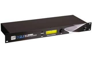 "LD Systems DS21 - 19"" DSP Controlador 3 canales"