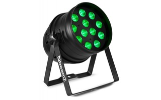 BeamZ BPP120 LED Par 64 12x 3W 3-en-1