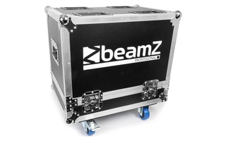 BeamZ Flightcase para 2pcs Panther 2R UP