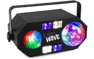 BeamZ LEDWAVE LED Jellyball, Water Wave and UV Effect