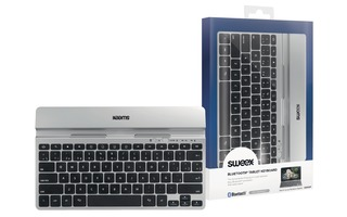 Bluetooth Keyboard Portable Spanish Silver/Black - Sweex KB300SP