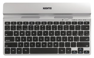 Imagenes de Bluetooth Keyboard Portable Spanish Silver/Black - Sweex KB300SP
