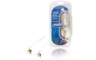 Cable de Antena Digital para Pantalla Plana 120dB 3.0 m - Bandridge BVL8403