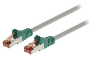 Cable de red cruzado SF/UTP CAT6 Macho - Macho de 1,00 m en color gris - Valueline VLCP85251E10