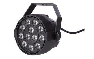 HQ Power Compact 121 - Mini LED PAR 9 LEDs RGBW x 1W