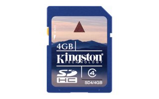 Kingston SD 4GB - CLASE 4