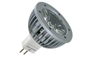 BOMBILLA LED 3W - COLOR BLANCO CÁLIDO (2700K) - 12V - MR16