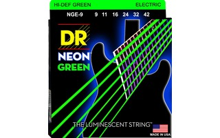 DRStrings NGE-9 Neon Green