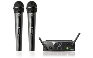 AKG WMS 40 PRO Mini Vocal SET Dual - ISM2-ISM3