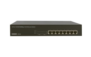 EMINENT - POWER OVER ETHERNET GIGABIT SWITCH DE  8 PUERTOS 10/100/1000 Mbps