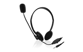 EWENT - AURICULAR PARA CHAT CON MICRÓFONO PARA SMARTPHONE/TABLET/PC