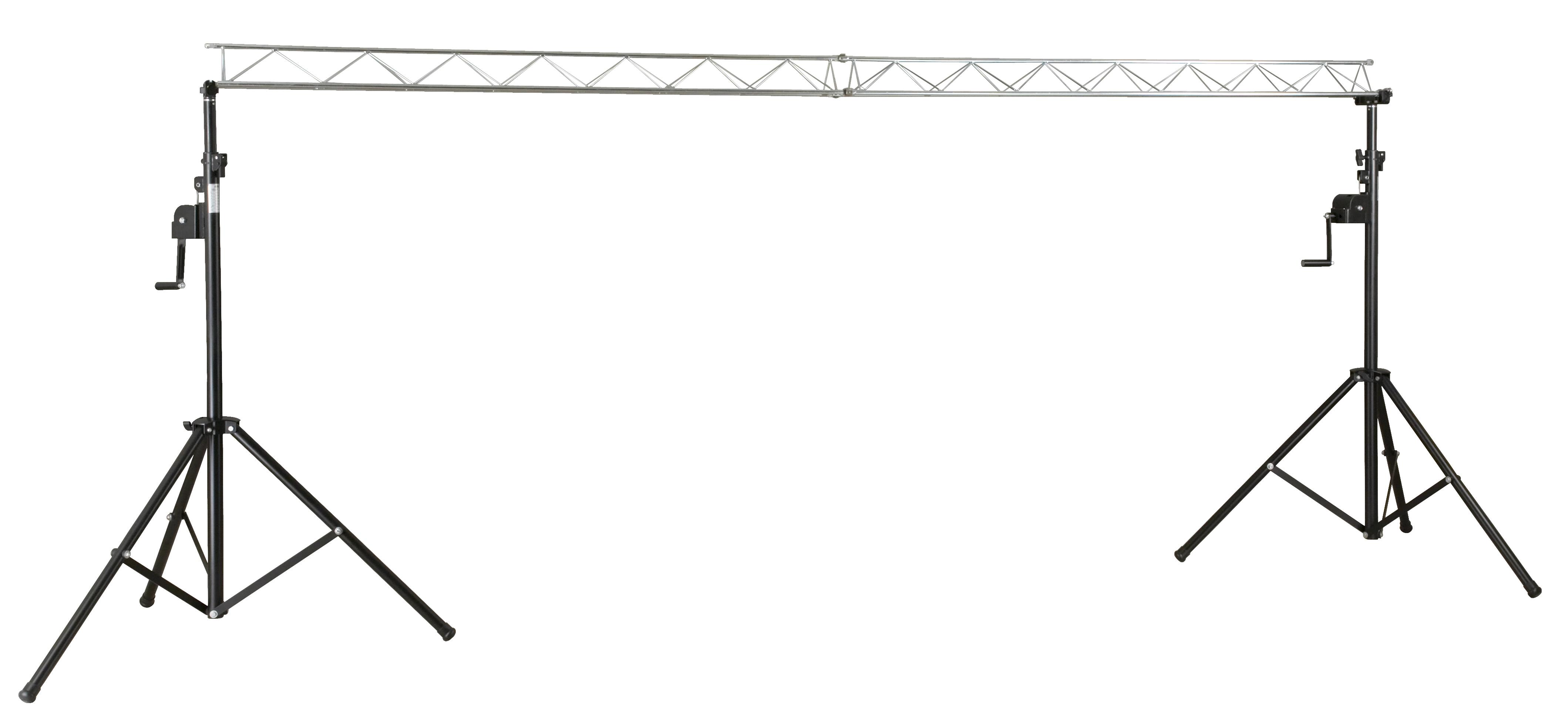 cloud night starter truss puente de acero xm para efectos iluminacion