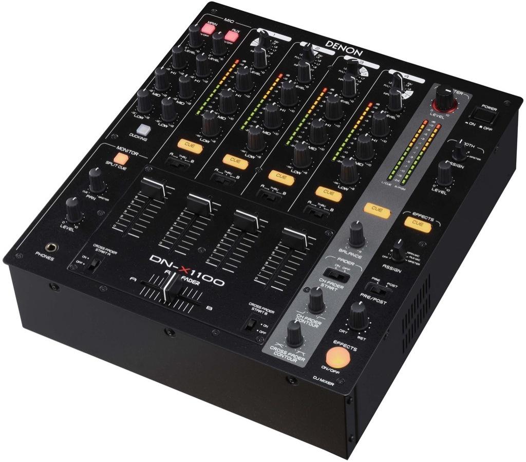 Denon dn x1100 djmania for Media markt mesa de mezclas