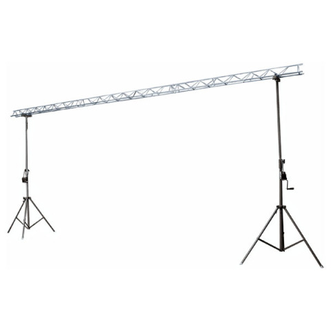 Dos soportes con estructura de metal superior djmania - Estructura de metal ...
