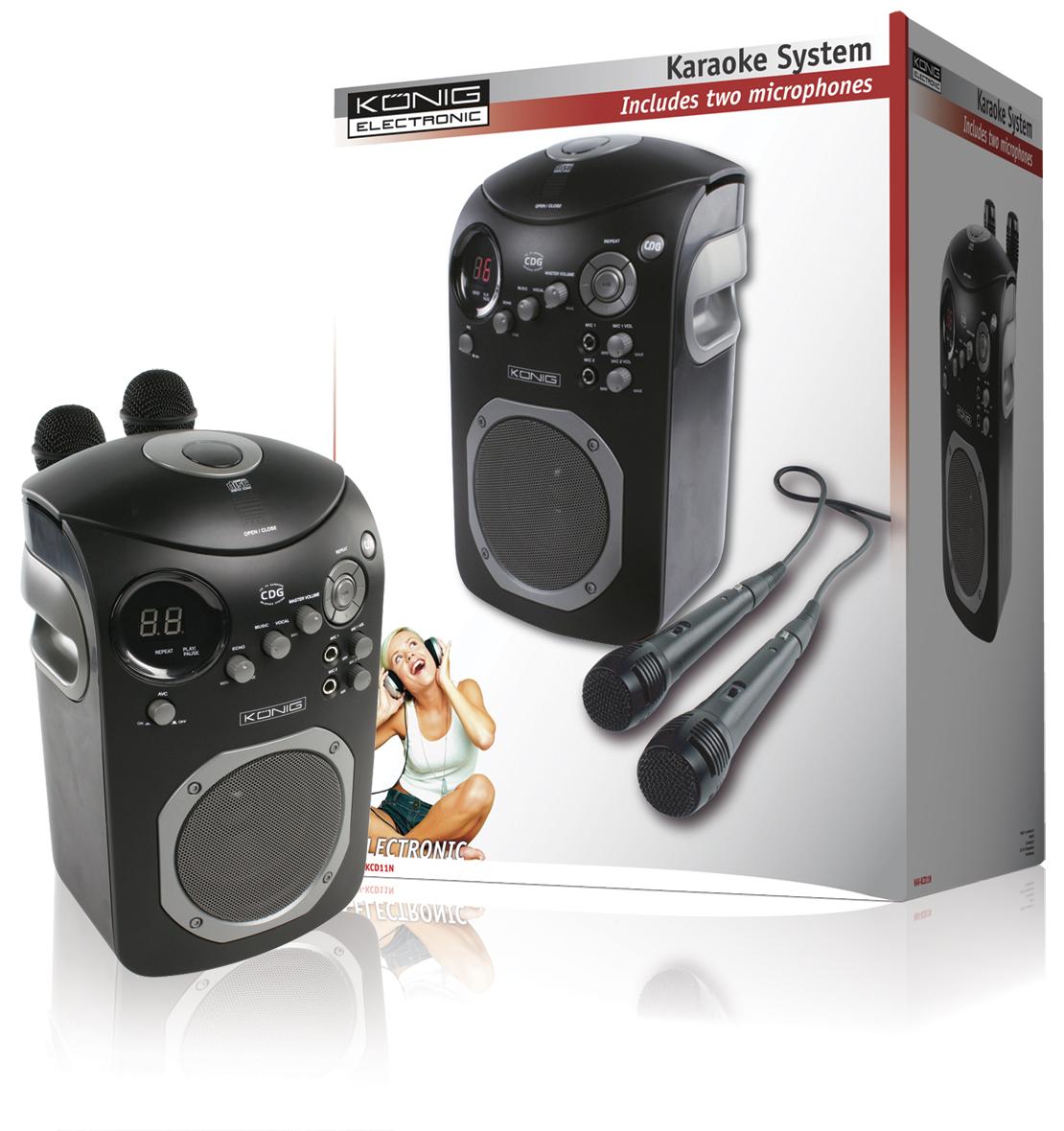 kit de karaoke con reproductor de cd djmania. Black Bedroom Furniture Sets. Home Design Ideas