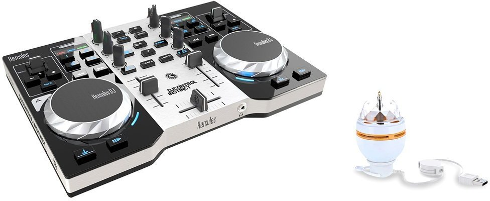 Hercules dj control instinct party pack djmania - Table de mixage hercules dj control instinct ...