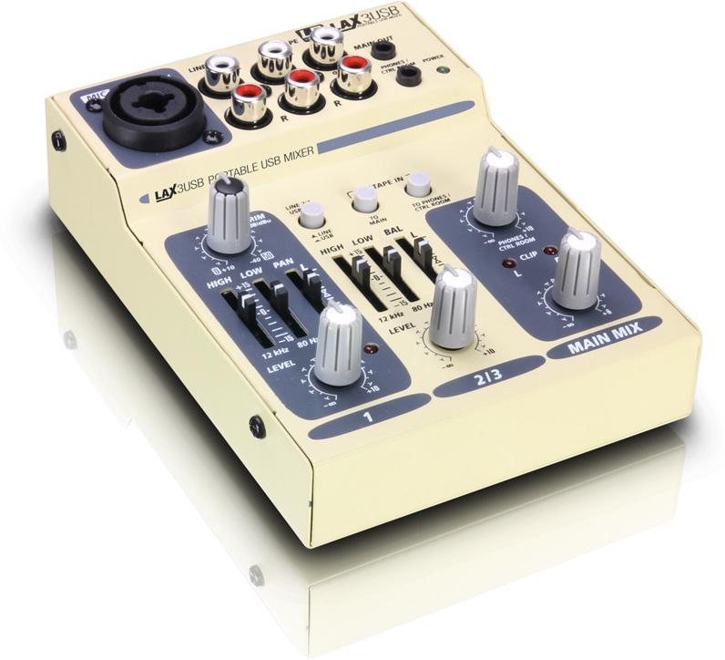 Ld systems lax 3 usb djmania for Programa mesa de mezclas