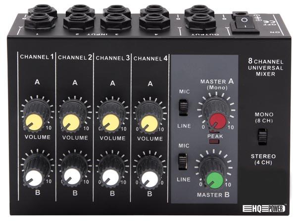Mesa de mezclas de 4 canales para micr fono djmania for Media markt mesa de mezclas