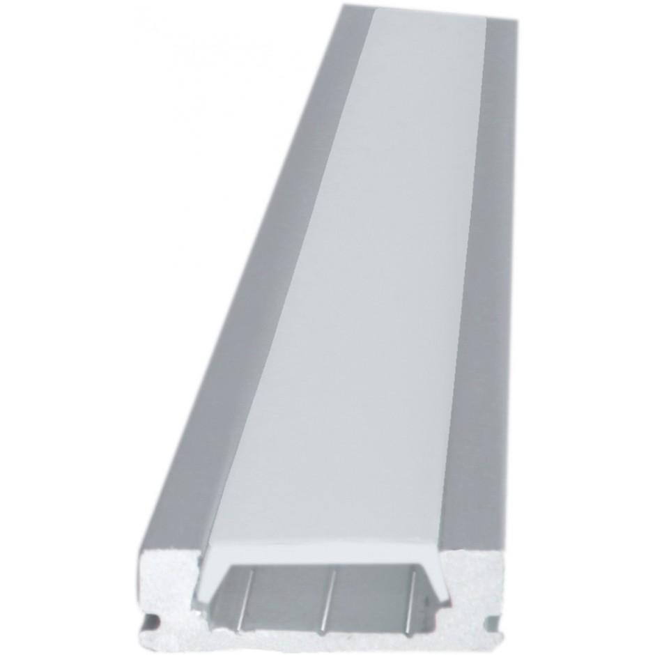 Perfil de aluminio dvr5 precio por metro djmania for Precio de aluminio