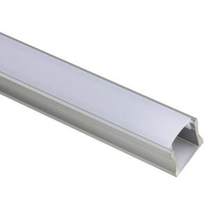Perfil de aluminio para tiras led dvr1 precio por metro - Perfil de aluminio precio ...