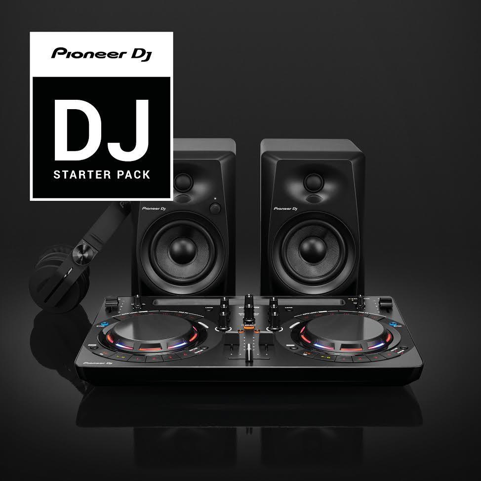 pioneer dj starter pack djmania. Black Bedroom Furniture Sets. Home Design Ideas
