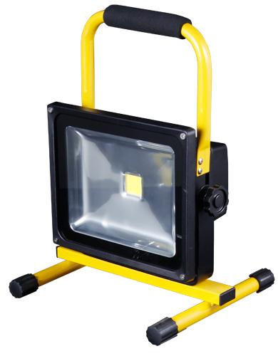Foco led portable y recargable 50w ip65 djmania for Foco led recargable